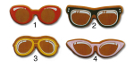 Brýle (6,5x2,55cm)