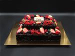 Čokoláda s ovocem (2 patra)