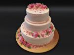Svatební dort (3 patra)